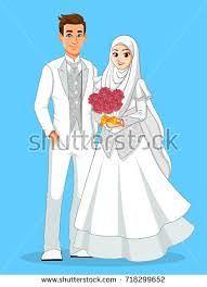 Gambar Kartun Muslimah Wedding A Photo On Flickriver