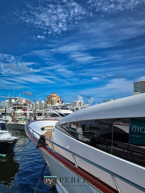 Luxury Yachts at Fort Lauderdale Boat Show