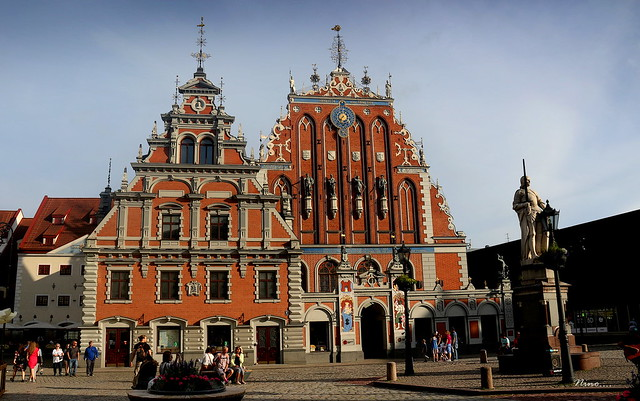Riga - Letonia...Casa de los Cabezas Negras