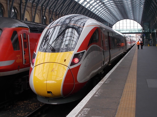 800 112 on test at London King's Cross