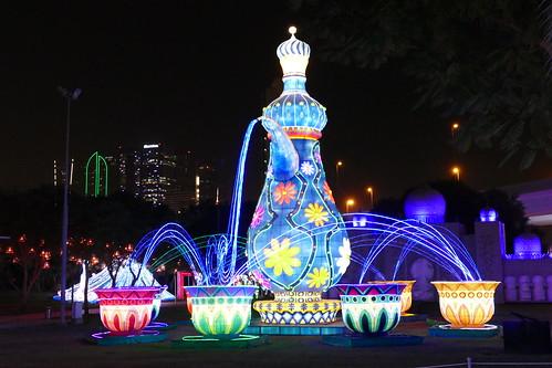 Glow Park at Dubai Garden Glow