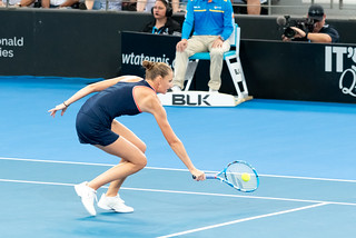 Brisbane International Tennis Finals 2019 - Karolina Pliskova  def. Lesia Tsurenko | by Andrew and Kathy Robertson