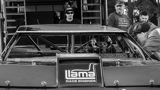 77B Mac Kwok, BK Pro-Dirt Super Saloon Series, Meeanee Speedway, Hawkes Bay, NZ - 17/11/18