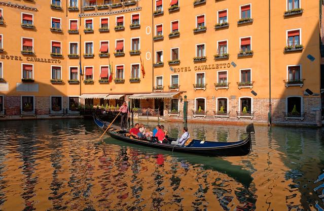Venice / Basino Orseolo / Hotel Cavaletto