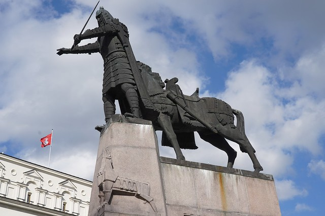 Vilnius: Monument to Grand Duke Gediminas