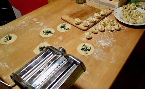 Tortellini mit Spinat und Ricotta Füllung   by distelfliege