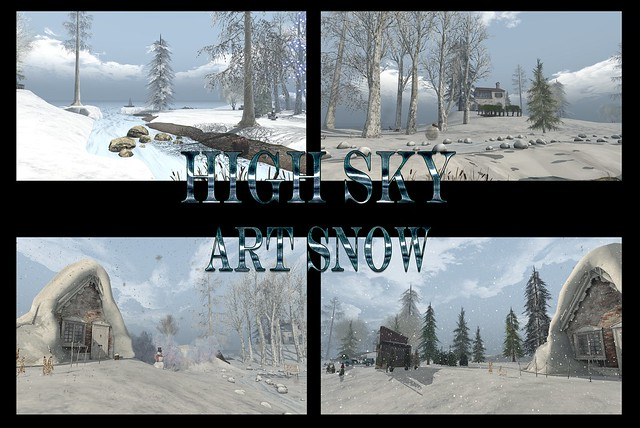 HIGH SKY  ART SNOW