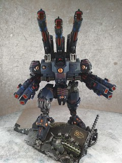 KX139 Taunar Supremacy Armour with Battlesuit Commander00018 | by Wargaming Mamas