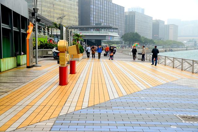 Walking in Hong Kong