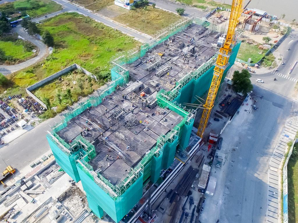Tiến độ xây dựng căn hộ One Verandah 03-2019 8