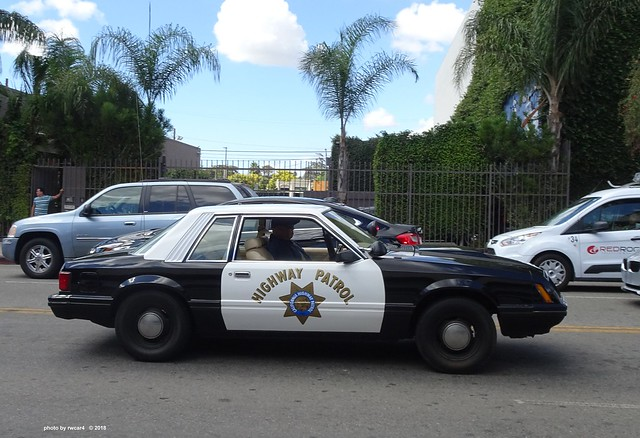 California Highway Patrol - 1982 Ford Mustang (2)