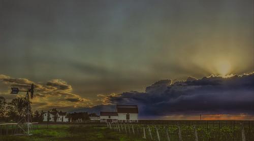canada ontario paulboudreauphotography niagara d5100 nikon nikond5100 texture layer photoshop nikkor1855mm toronto lakeontario rural escarpment farm vineyards car skyline explore