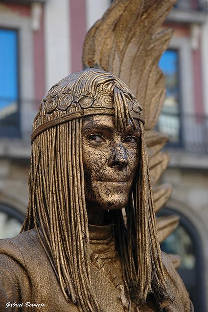 Mujer de bronce- Barcelona