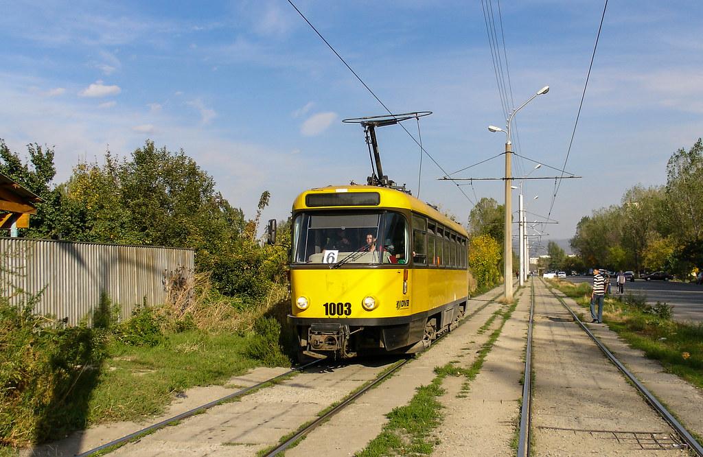Almaty tramway (closed): Tatra T4D # 1003