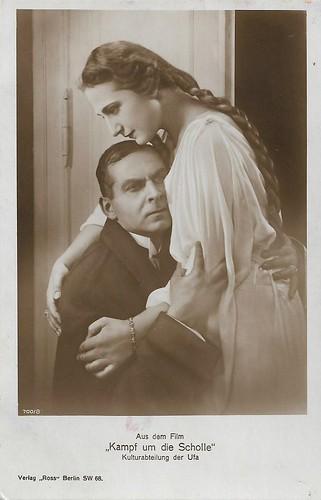 Ferdinand von Alten and Margarete Schön in Kampf um die Scholle (1925)