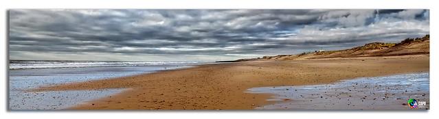 seul sur la plage.....