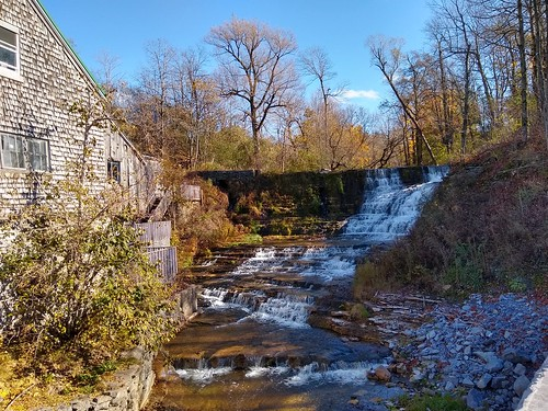 2018 october fall newyork watertown burrville cidermill burrvillecidermill waterfall cellphonephotography