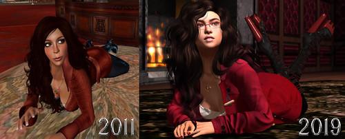 Then & Now #SecondLifeChallenge | by Arualblues Zero