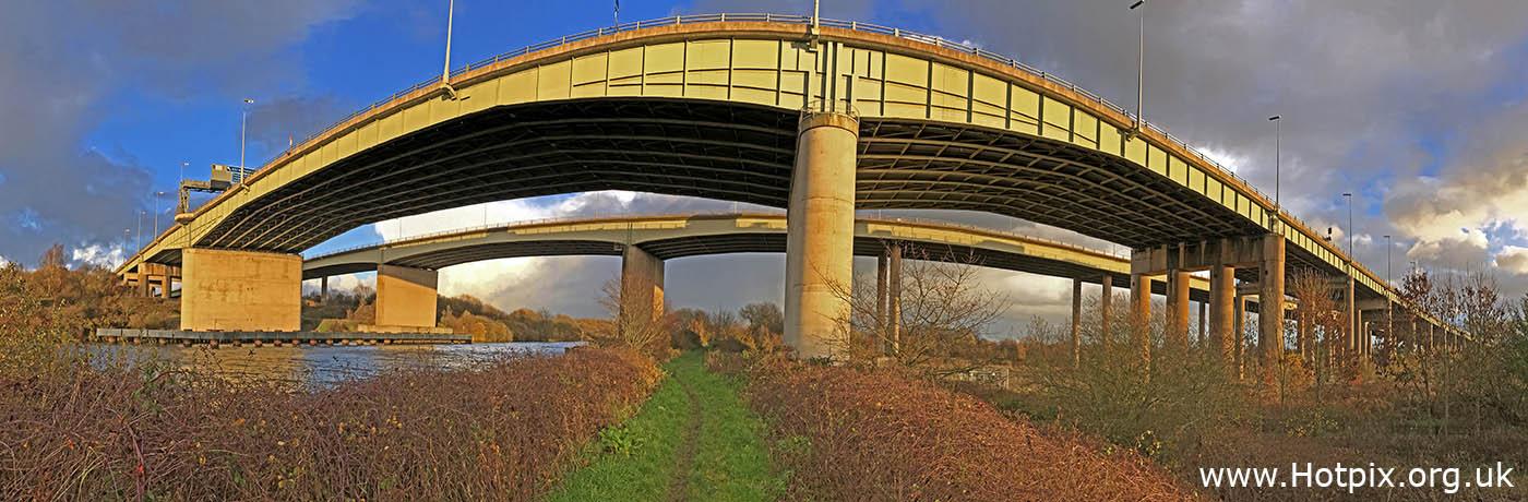 HousingITguy,Project365,2nd 365,HotpixUK365,Tone Smith,GoTonySmith,365,2365 one a day,Tony Smith,Hotpix,M6,Thelwall,Bridge,MSCC,Peel Ports,path,Ship Canal