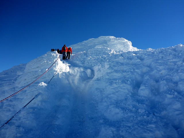 unterwegs zur Schneekoppe