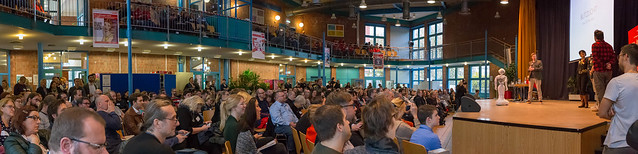 Panorama Aufnahme  - Digital Education Day in Köln 2018