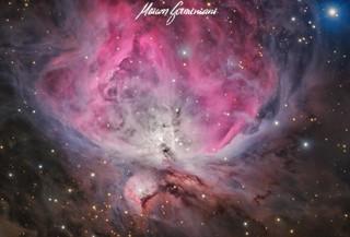 Messier 42 - Orion Nebula   by maicongerminiani