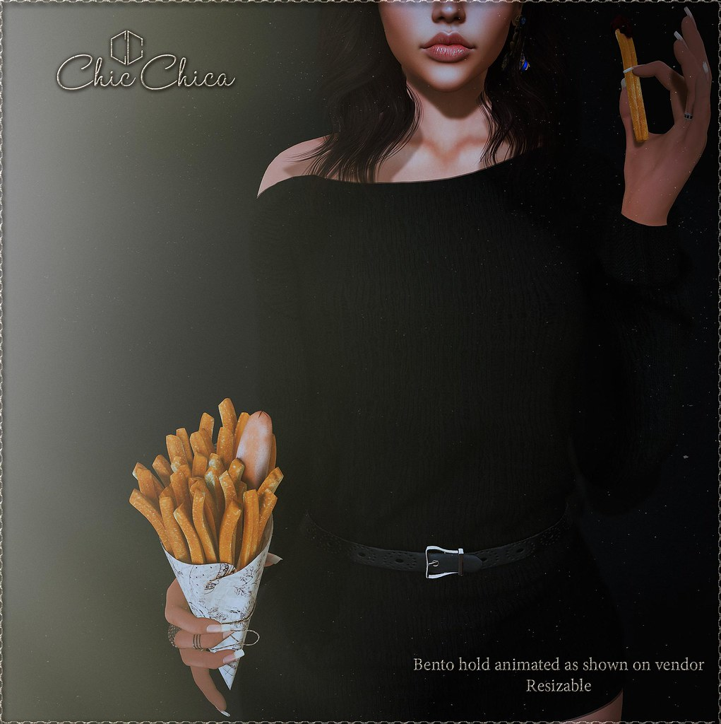 French Fry by ChicChica for the Saturday Sale 75 lindens