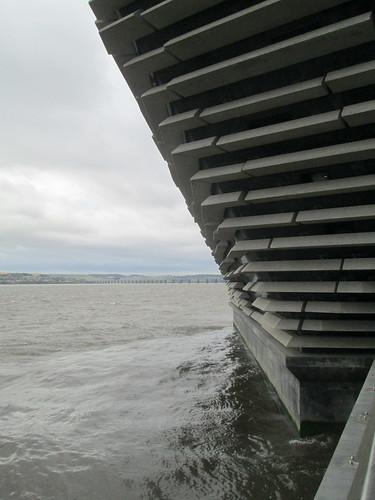 Overhanging River Tay, V&A Dundee
