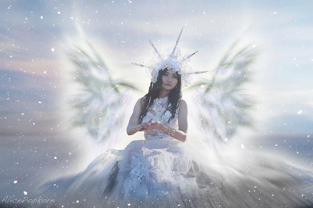 snowflake angel