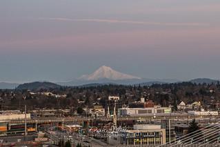 Mt Hood over Portland | by niseag03
