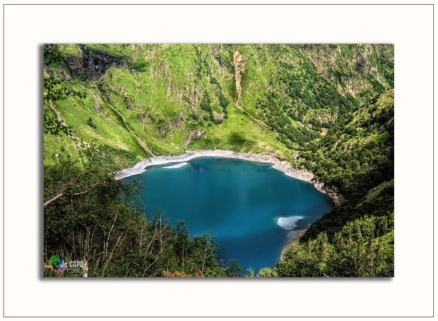 Vue à 1800 m du lac Ôo