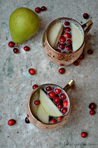 Cranberry Pear Mock Mules 3 | by katesrecipebox