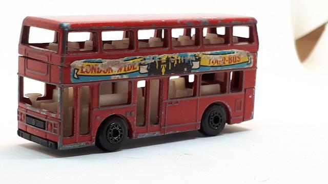 MATCHBOX LEYLAND TITAN NO40 LONDON-WIDE TOUR-BUS 1/64
