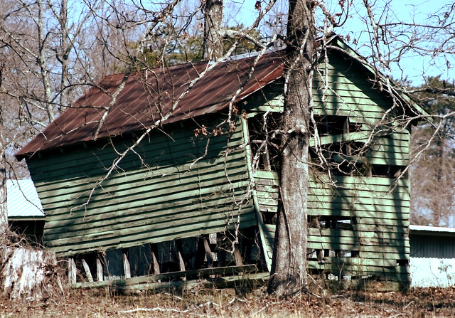 Busted Barn