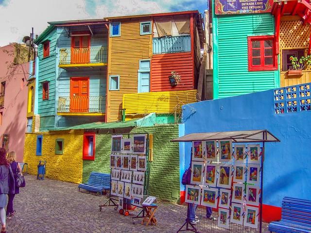 Caminito neighborhood. Buenos Aires, Argentina