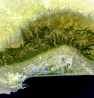 Salalah, Oman. Original from NASA. Digitally enhanced by rawpixel.