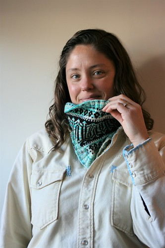 Adventures in Colorwork:  Glacier Park Cowl | by patternandbranch