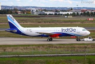 F-WWDO Airbus A320 Neo Indigo | by @Eurospot