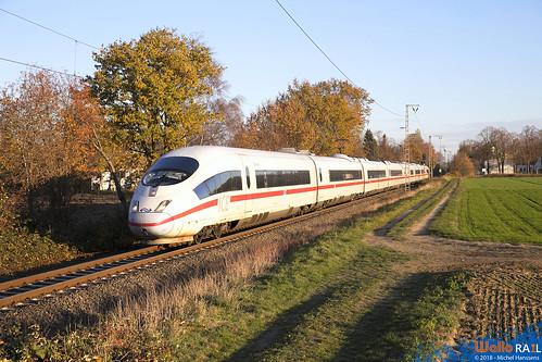 4652 NS . ICE 124 . Dülken . 18.11.18.