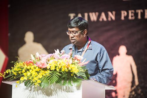 圖14.新加坡CIEU化學工聯副祕書長Tamilvanan致詞