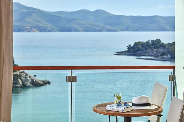 AKS Hinitsa Bay view from balcony