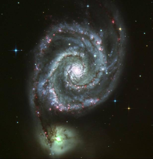 M51 the Whirlpool Galaxy