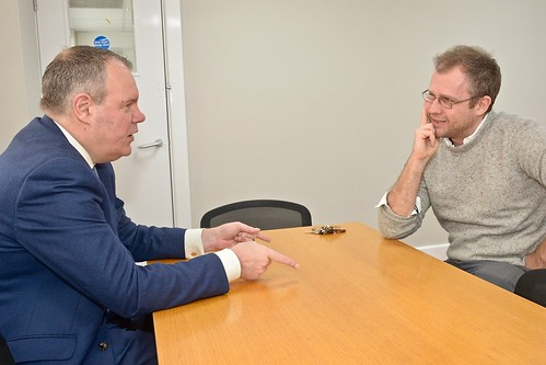 Conor meets with YMCA CEO to discuss helping those with addictions | by Conor Burns - Conservative