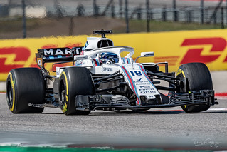 Lance Stroll, Williams   by DaveWilsonPhotography