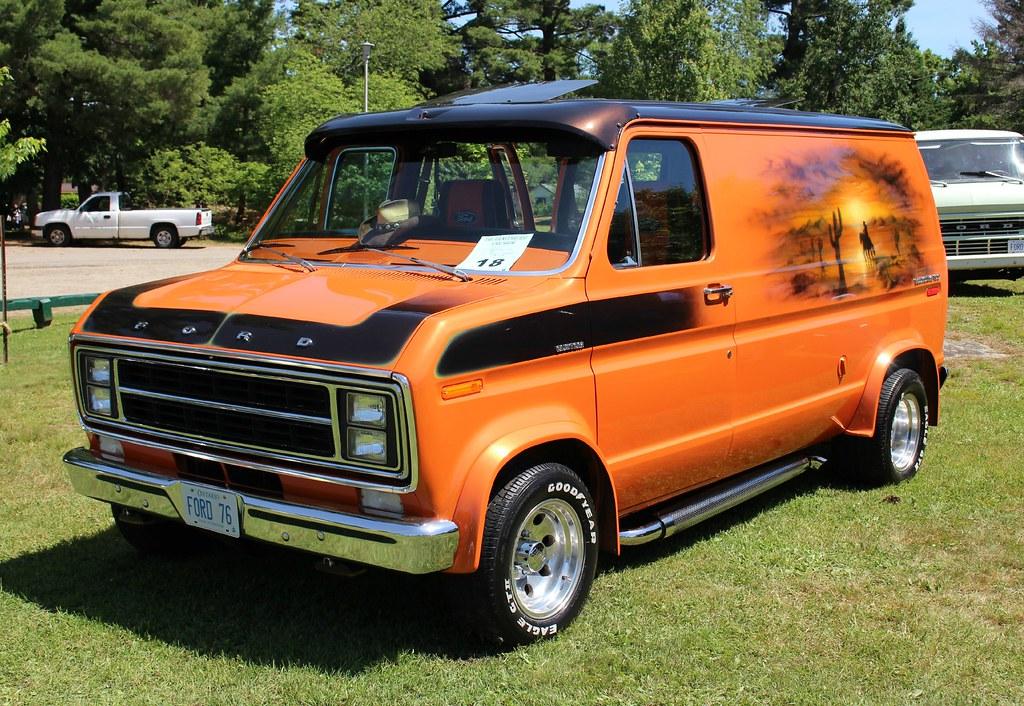 1976 Ford Econoline Van Richard Spiegelman Flickr