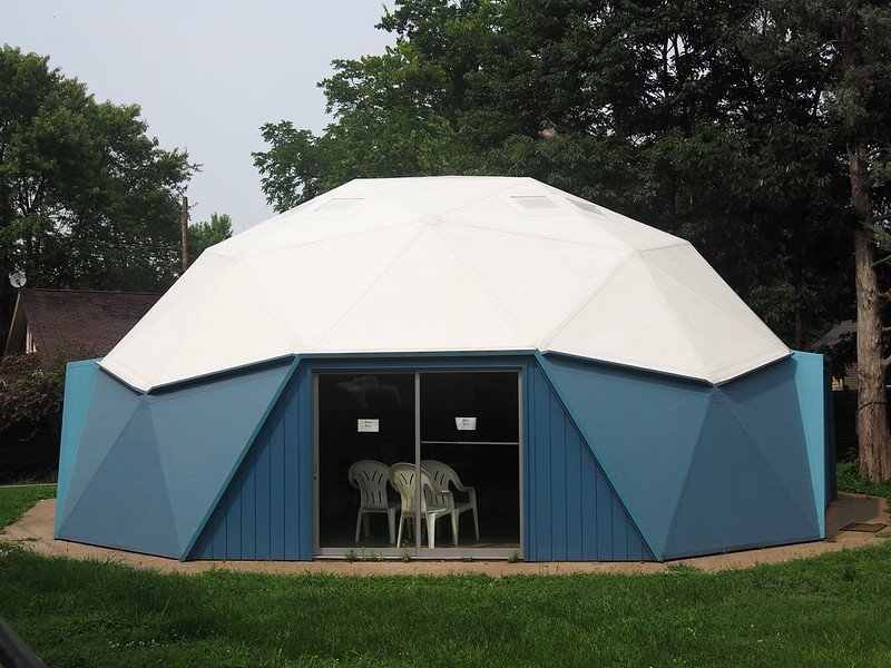 R. Buckminster Fuller and Anne Hewlett Dome Home