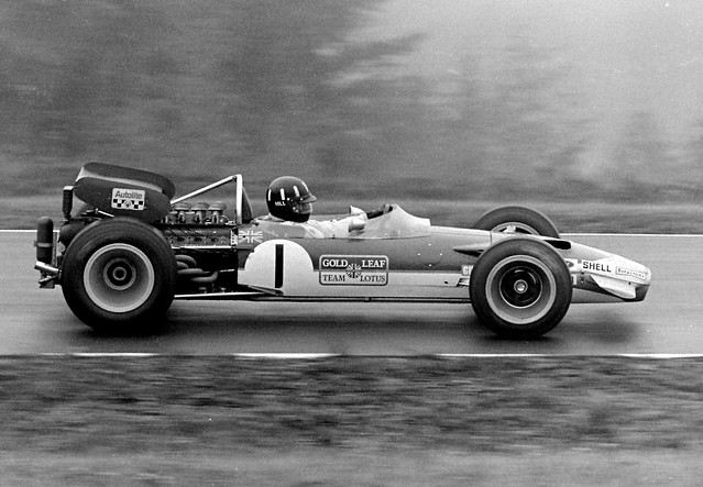 1969 United States Grand Prix Graham Hill Lotus