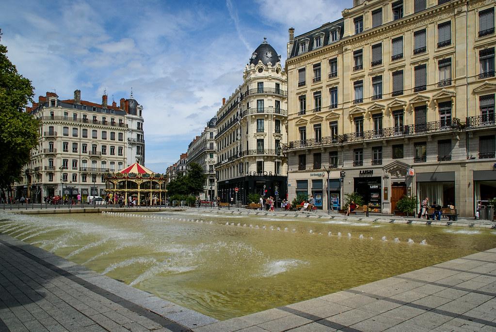 Lyon en été