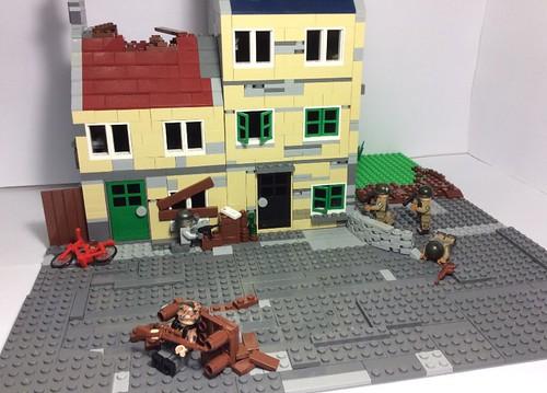 Carentan 1944. #lego#moc#ww2#101airborne