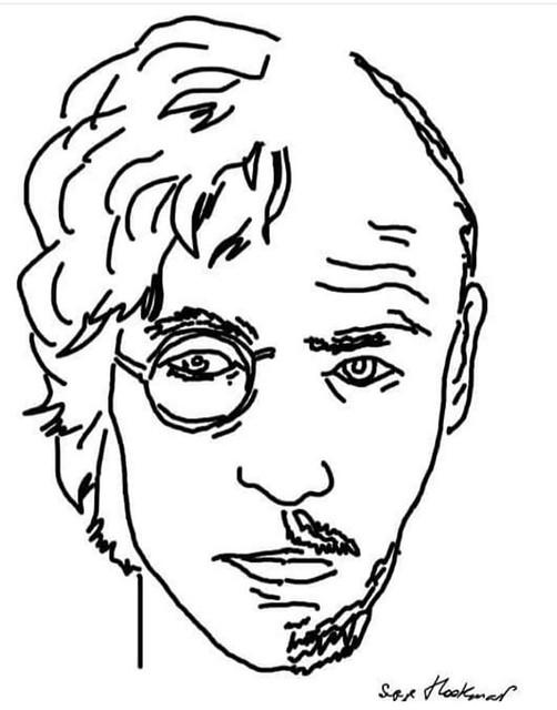 Ленин или Леннон #lenin #lennon #sketch